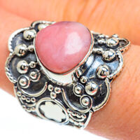 Large Pink Opal 925 Sterling Silver Ring Size 8.5 Ana Co Jewelry R44978F