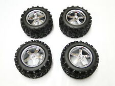 "NEW TRAXXAS T-MAXX 3.3 Wheels & Tires 6.3"" RX33"