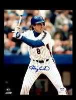Gary Carter PSA DNA Coa Hand Signed 8x10 Mets Photo Autograph
