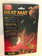 ExoTerra Reptile Heat Mat Pad 1-5 Gallon Terrarium Heater X-Small 4w PT-2015