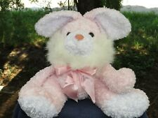 Vintage Quality Products Pink Bunny Rabbit Lovey Plush Stuffed Animal LOW PRICE