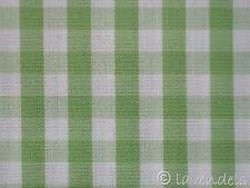 Karo Stoff ♥ pistazie grün hellgrün Baumwolle kariert 0,5 Vichy