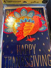 Hallmark 3D Thanksgiving Cards - Pack of 4