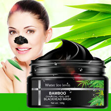 Bamboo Charcoal Blackhead Remover Purifying Peel Off Mud Face Mask Pore Strip