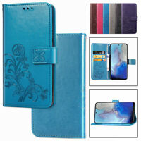 For Samsung Galaxy S20 Ultra S8 S7 S6 Edge Plus Leather Stand Wallet Case Cover