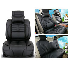 8pcs PU Leather Car Seat Cushion Covers For Five Seats Toyota Camry Corolla RAV4