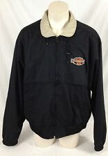 Allison Transmission 933 Black Jacket King Louie Full-Zip Made in USA Men's 2XL