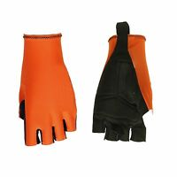 GUANTI CICLISMO PROLINE ARANCIO FLUO CYCLING GLOVES ORANGE FLUO S M L XL NEW