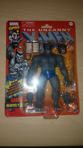 "Marvel Legends 6"" X-Men Retro - Grey Beast Avengers Exclusive Variant..."