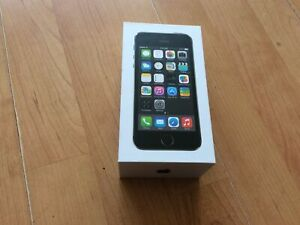 Empty Iphone 5s Box With Instructions, Great Condition