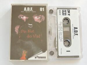 """A.D.F. - ANTI DEMON FORCE - DAS BLUT DES VLAD"" FOLGE 1, HÖRFABRIK -MC/ KASSETTE"