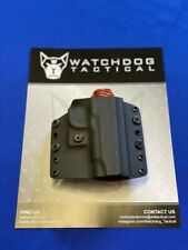"""Watchdog Tactical OWB/IWB Holster for Kimber 4"""", Right-Handed, Black"""