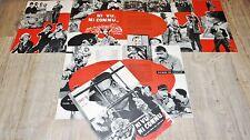 louis de funes NI VU ...NI CONNU ! tres rare scenario dossier presse cinema 1957