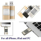 i-Flash Drive USB Memory Stick HD U-Disk 3 in 1 for Android/ios iPhone PC