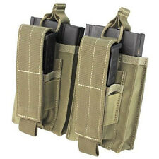 Condor 191040 Double Kangaroo Mag Pouch for 7.62 Rifle & Pistol Mags - Tan