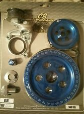 VW Bug Bus CB Performance Blue Serpentine Belt Pulley System SAND SEAL 1888blss