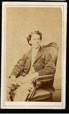 Civil War Era Cdv Young Man by Fredericks Ny