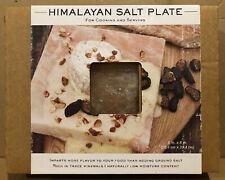 New listing Large New Pink Himalayan Rock Salt Plate Natural Organic Bbq Slab Charcoal Cook