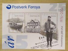 Faroe Island Stamp 2001 MNH Minisheet