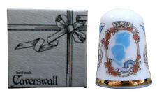 Caverswall UK & Ireland Collectable Sewing Thimbles