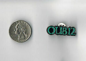 VAN HALEN OU812 LP Album ENAMEL Die-Cut PROMO PIN Button Badge 1988