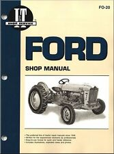 Ford Tractor Repair Manual Ford New Holland 501, 600, 601, 700, 701, 800, 801