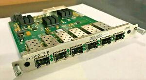 Juniper JXU-6GE-SFP-S,6-Port SFP Gigabit Eth PIM for J6350 SSG-550M-SH