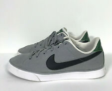 Nike Sweet Classic Low Canvas Men's Shoes Sz 10.5 Wolf Gray Green (417784-031)