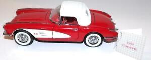 Franklin Mint Precision Diecast Model Car 1959 Chevy Chevrolet CORVETTE 1:24