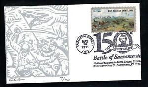 2011 Sc #4523 Civil War - 1861 - Battle of Sacramento, KY cover by Dave Curtis