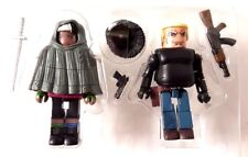 MiniMates Walking Dead 2-Pack HOODED MICHONE & GABE Diamond Select New Loose