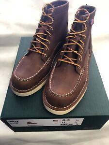 "Danner Boots Men's 6"" Bull Run Moc Toe Tobacco 15573 Sizes 9-13 D & EE"
