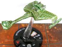 Star Trek Tactics I.K.S. KRONOS ONE #21 Heroclix rare miniature Wizkids IKS #021