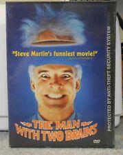 The Man With Two Brains (DVD, 1999) RARE STEVE MARTIN 1983 BRAND NEW ORIGINAL