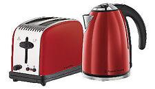 Russell Hobbs Paddington Breakfast Kettle & Toaster Pack - Red