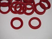 5 Stück Jura Wassertank Dichtungen    Lippendichtungen in Silikon rot