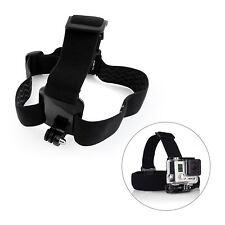 Adjustable Head Strap For GoPro Go Pro Camera 2 3 3+ 4 5 6 Elastic Mount Ski Hat