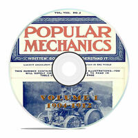 Vintage Popular Mechanics Magazine, Volume 1 DVD, 1904-1912, 76 issues, V11