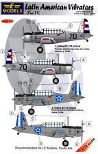 LF Models Decals 1/72 VULTEE BT-13 LATIN AMERICAN VIBRATORS Part 4