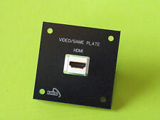 *NEW* VIDEO GAME PLATE HDMI PORT  RV MOTORHOME BOAT MARINE BY KIB AVP1010
