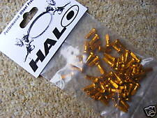 Alloy Spoke Nipples (Bag of 50) Gold (NEW!) Halo