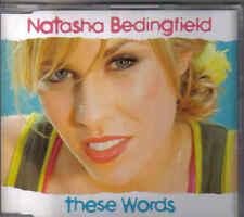 Natasha Bedingfield-These Words Promo cd single
