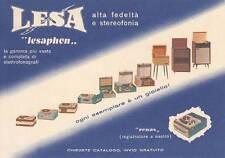 A7604) LESA, LESAPHON FONOGRAFI E REGISTRATORI.