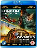 London Has Fallen and Olympus Has Fallen [Blu-ray] [2016] [DVD][Region 2]