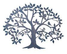 "Wanddeko ""Baum"" Metall Wandbild Wandschmuck Wanddekoration Metallbild Bild"