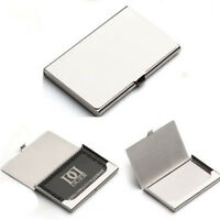 Stainless steel Cards Holders Business Name ID Credit Card Holder Organizer L8