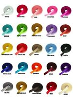 "3/8"" GROSGRAIN Rolled up Ribbon 100% Polyester Choose Color & Yards Amount"