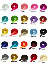 """3/8"""" GROSGRAIN Rolled up Ribbon 100% Polyester Choose Color & Yards Amount"""