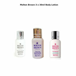 Molton Brown- 3x30ml BODY LOTION Gift Set GIFT