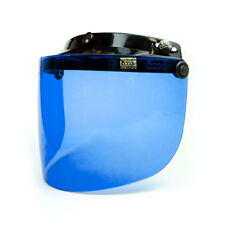 Bogo Optics 3-Punkt Klapp-Visier flach dunkelblau